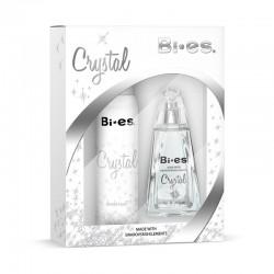 Дамски подаръчен комплект Crystal с аромат на Armani-Diamons – парфюмна вода 100 ml и дезодорант 150 ml – Bi-es