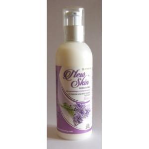 Почистващо и хидратиращо мляко за лице с лайка, лавандула и макадамия – Ауриметрия