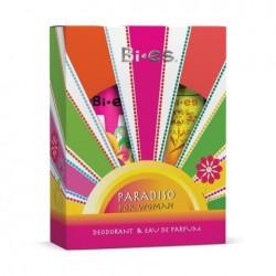 Дамски подаръчен комплект Paradiso - парфюмна вода 50ml и дезодорант 150ml - BI-ES