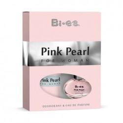 Дамски подаръчен комплект Pink Pearl - парфюмна вода 50ml и дезодорант 150ml - BI-ES