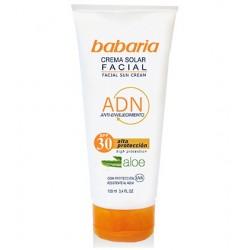 Слънцезащитен крем за лице против бръчки с алое вера SPF30 – Babaria