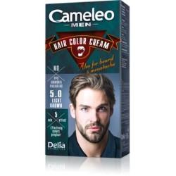Безамонячна крем боя за коса за мъже - Светло кестеняво - Cameleo - Delia