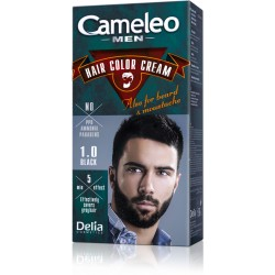 Безамонячна крем боя за коса за мъже - Черно - Cameleo - Delia