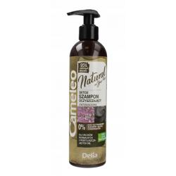 Натурален детоксикиращ шампоан за нормална и мазна  коса Cameleo - Delia