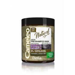 Натурална детоксикираща маска за нормална и мазна коса Cameleo Detox – Delia