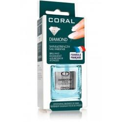Балсам за нокти с диамантен блясък Coral Diamond – Delia