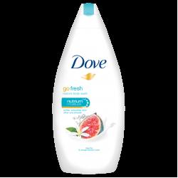 Подхранващ душ-гел със смокиня Dove Go Fresh – Dove