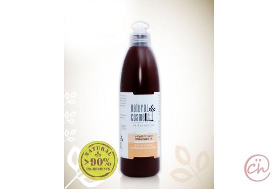 Био душ-гел за тяло за суха кожа с масло от пшеничен зародиш Relax 24 – Natural Cosmetic
