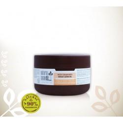 Био крем за тяло за суха кожа с масло от пшеничен зародиш Relax 24 – Natural Cosmetic