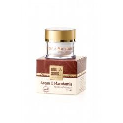 Натурален регенериращ нощен крем за лице с Арган и Макадамия –  Natural Cosmetic