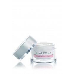 Натурален регенериращ крем за деколте и шия с розово масло Rosa Pretiosa – Natural Cosmetic