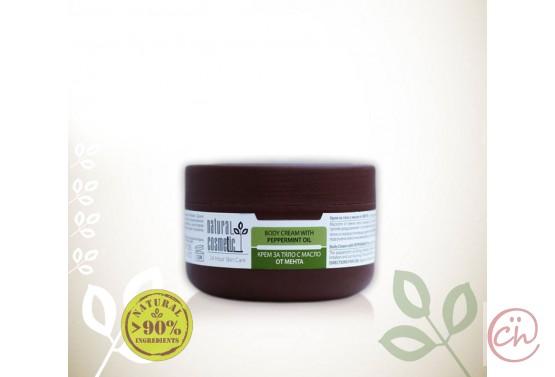Освежаващ био крем за тяло с масло от мента Relax 24 – Natural Cosmetic