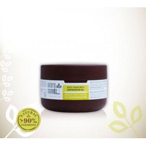 Био крем за тяло за мазна кожа с масло от сандалово дърво Relax 24 – Natural Cosmetic