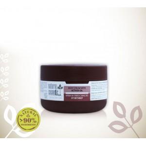 Тонизиращ био крем за тяло с масло от ветивер Relax 24 – Natural Cosmetic