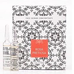 Натурални хидратиращи ампули - серум за лице с маслодайна роза Rosa Pretiosa Lux – Natural cosmetic
