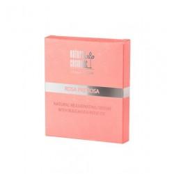 Натурален подмладяващ серум за лице с розово масло- Natural Cosmetic