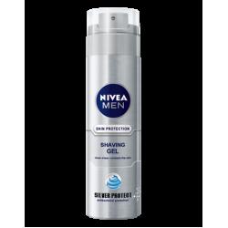 Гел за бръснене Silver Protect- Nivea MEN