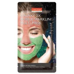 Двойна мултифункционална маска за лице в розово и зелено - Purederm