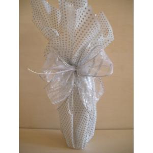 """Подаръчна опаковка """"Сребрист бонбон"""" – Малка"""