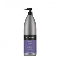 Професионален шампоан за боядисана коса с невен и боровинка – Allwaves